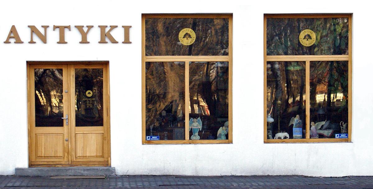 Siedziba ANTYKI JAKUBOWSKI - najstarszego antykwariatu w Zagłębiu Dąbrowskim